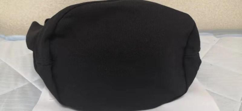 ショルダーバッグ トートバッグ 2WAY ポケットいっぱい キャンバス  帆布ショルダーバッグ レディースバッグ 大容量 ブラック