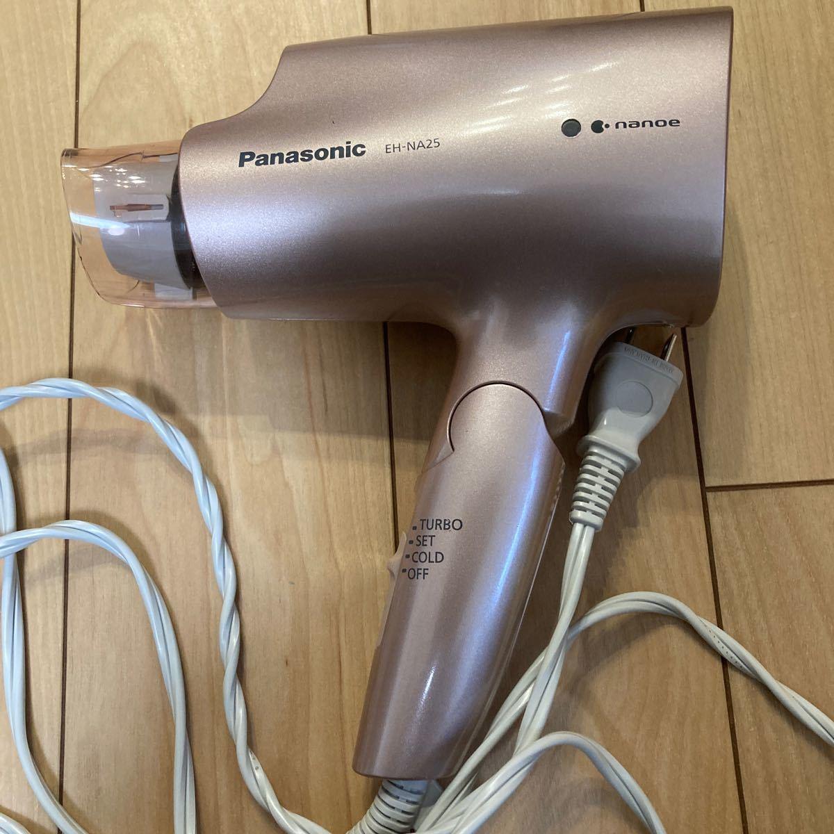 ドライヤー  Panasonic ナノケア ナノケアドライヤー ナノイー パナソニック EH-NA25 ジャンク品