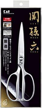 シルバー 20.7×7.5×1.2cm 貝印 KAI キッチンはさみ 関孫六 鍛造 オールステンレス 日本製 DH3345_画像6