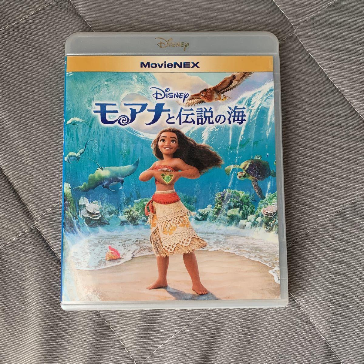 モアナと伝説の海 MovieNEX ブルーレイ+純正ケース Disney