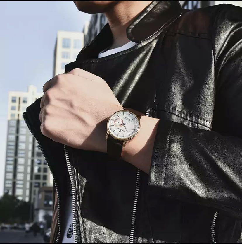 【特別価格】ファッションカジュアルスポーツ腕時計メンズミリタリー腕時計レロジオmasculino男性時計の高級防水クォーツ時計_画像9