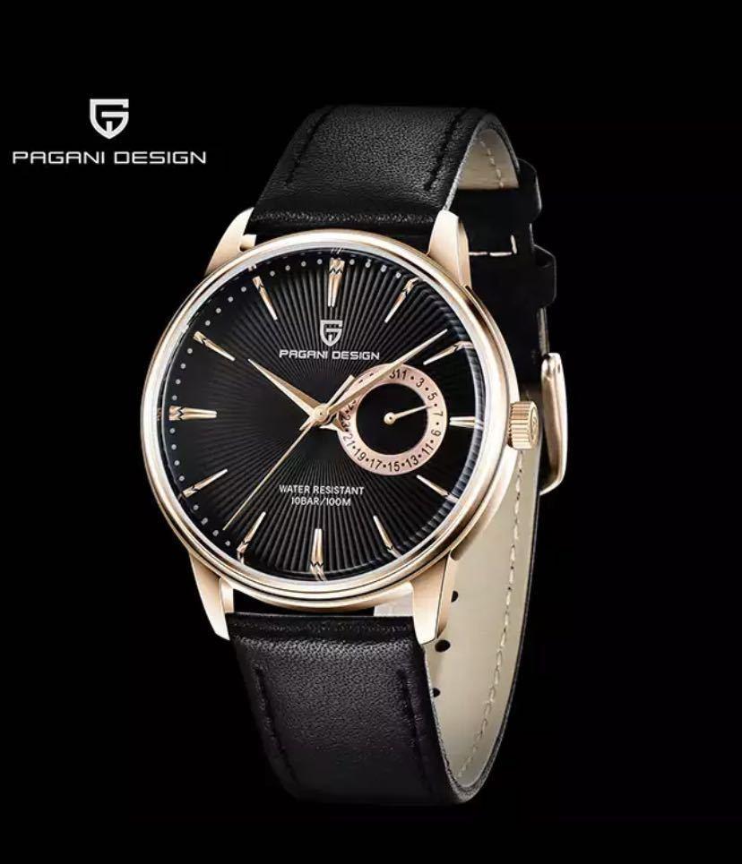 【特別価格】ファッションカジュアルスポーツ腕時計メンズミリタリー腕時計レロジオmasculino男性時計の高級防水クォーツ時計_Gold Black