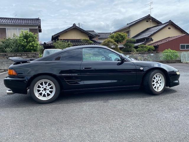 「GT-S 5F 平成9年 4型 距離105000km MR-2 黒 マフラー 昨年車高調 新品装着 」の画像2