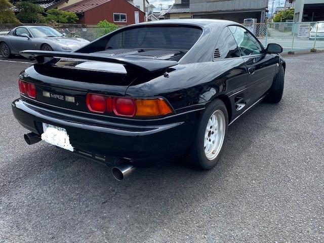 「GT-S 5F 平成9年 4型 距離105000km MR-2 黒 マフラー 昨年車高調 新品装着 」の画像3