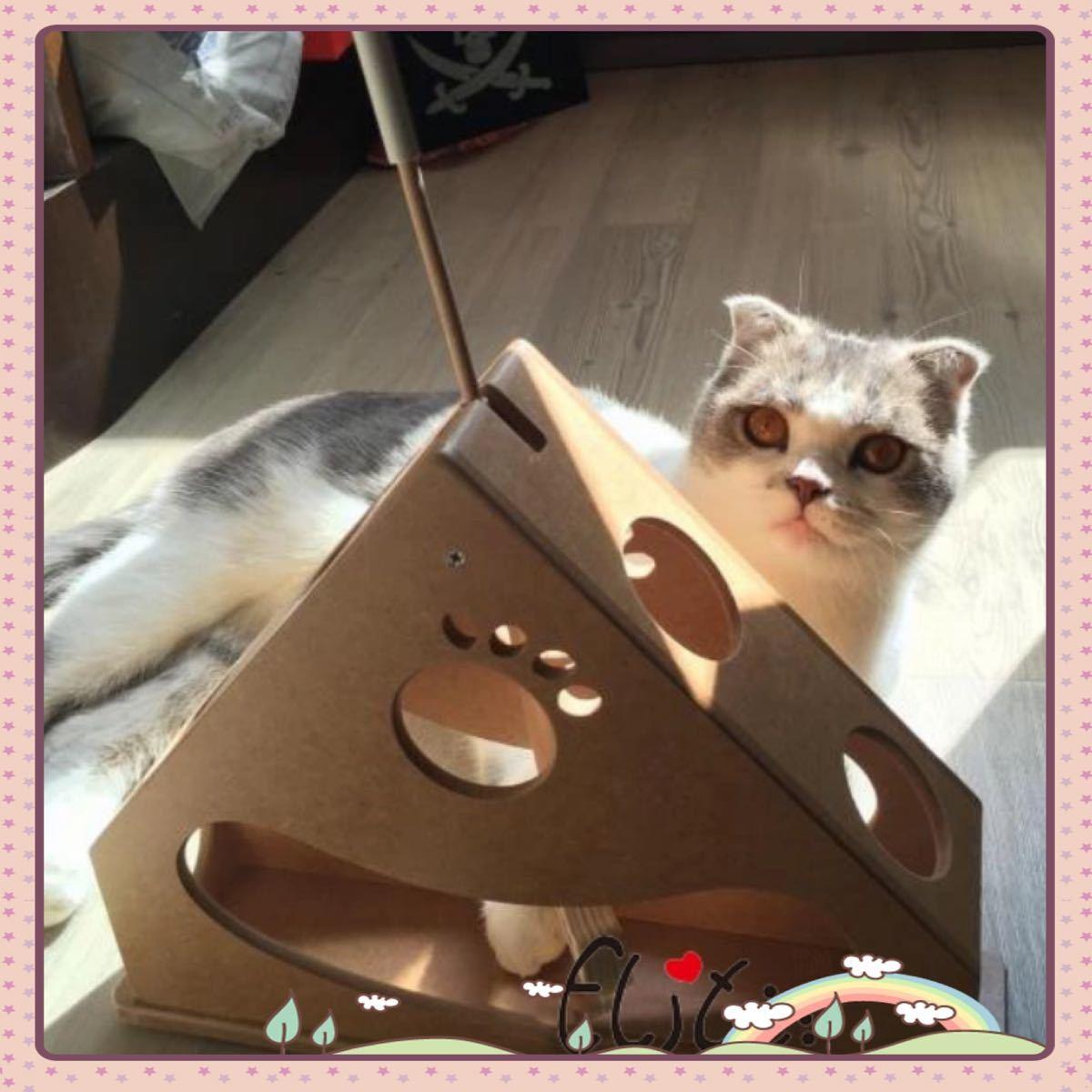 猫のおもちゃ 猫じゃらし 猫 知育玩具 キャットパイレーツ 旗振り