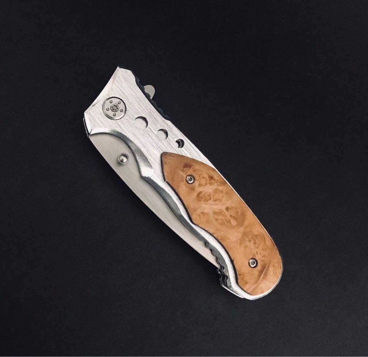 ナイフ フォールディングナイフ #024 ポケットナイフ 折りたたみ
