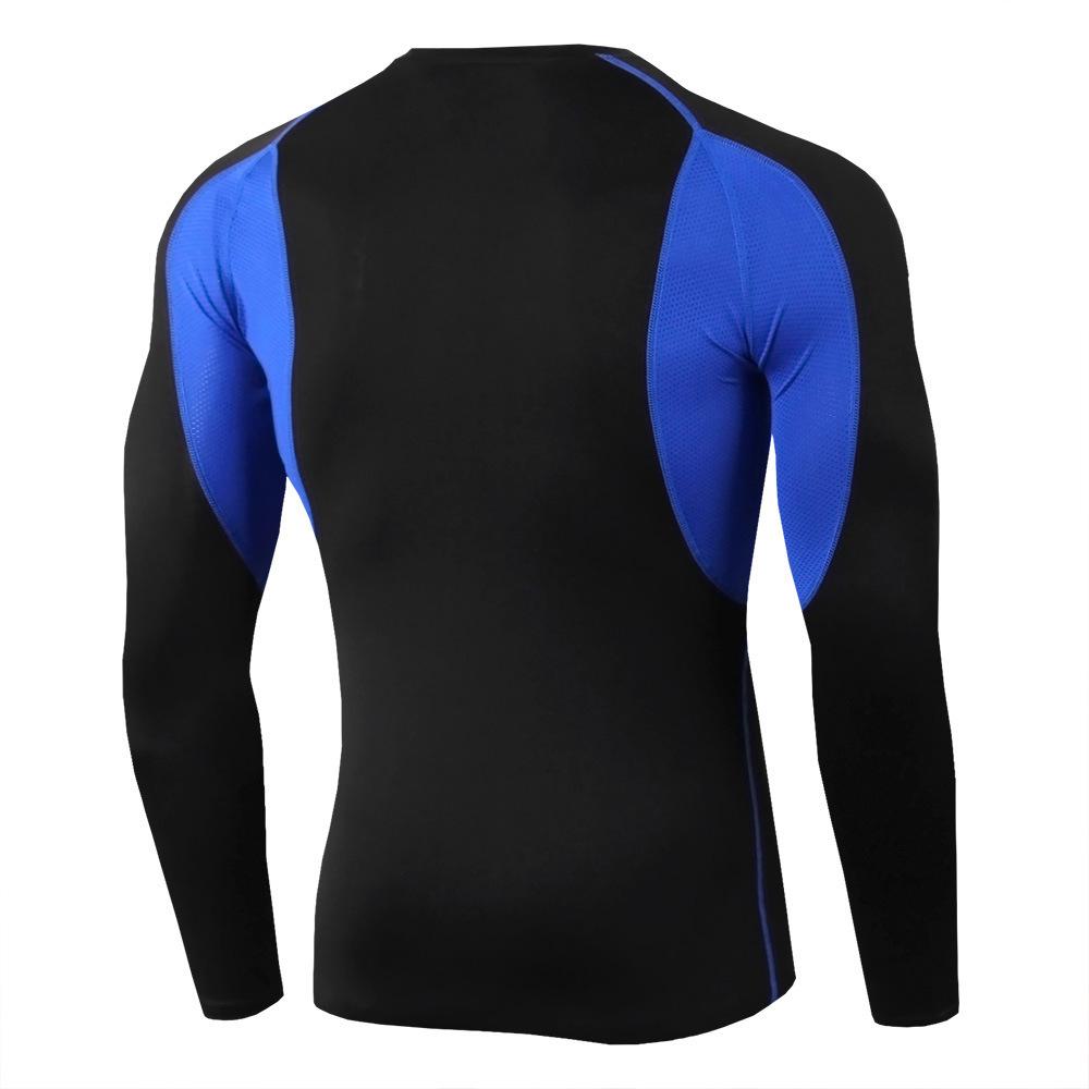 ロングスリーブ クルーネックシャツ パワーストレッチ 長袖 スポーツシャツ メンズ 冷感 速乾 吸湿