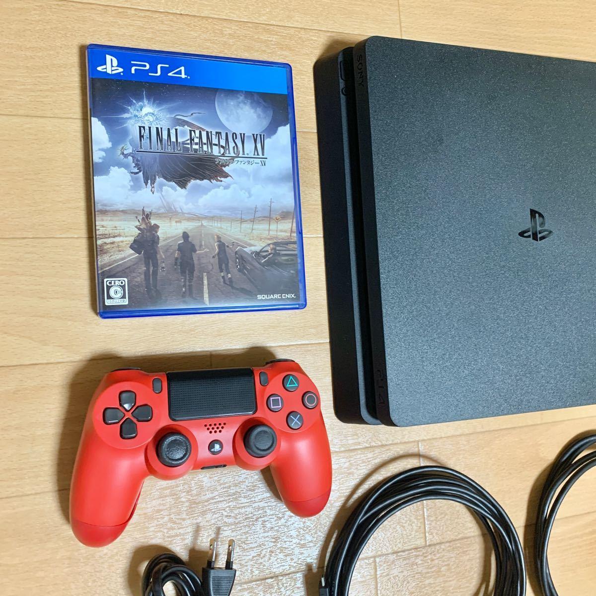 PS4 プレイステーション4 CUH-2000B 本体 コントローラ ソフト付