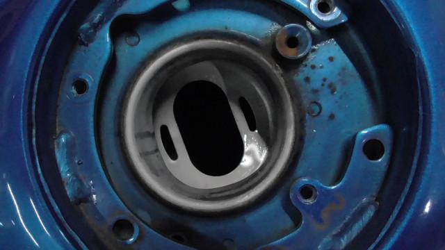 ニンジャ Ninja 250 EX250L-A28xxx の タンク 傷 凹み *1631165509 中古_画像4