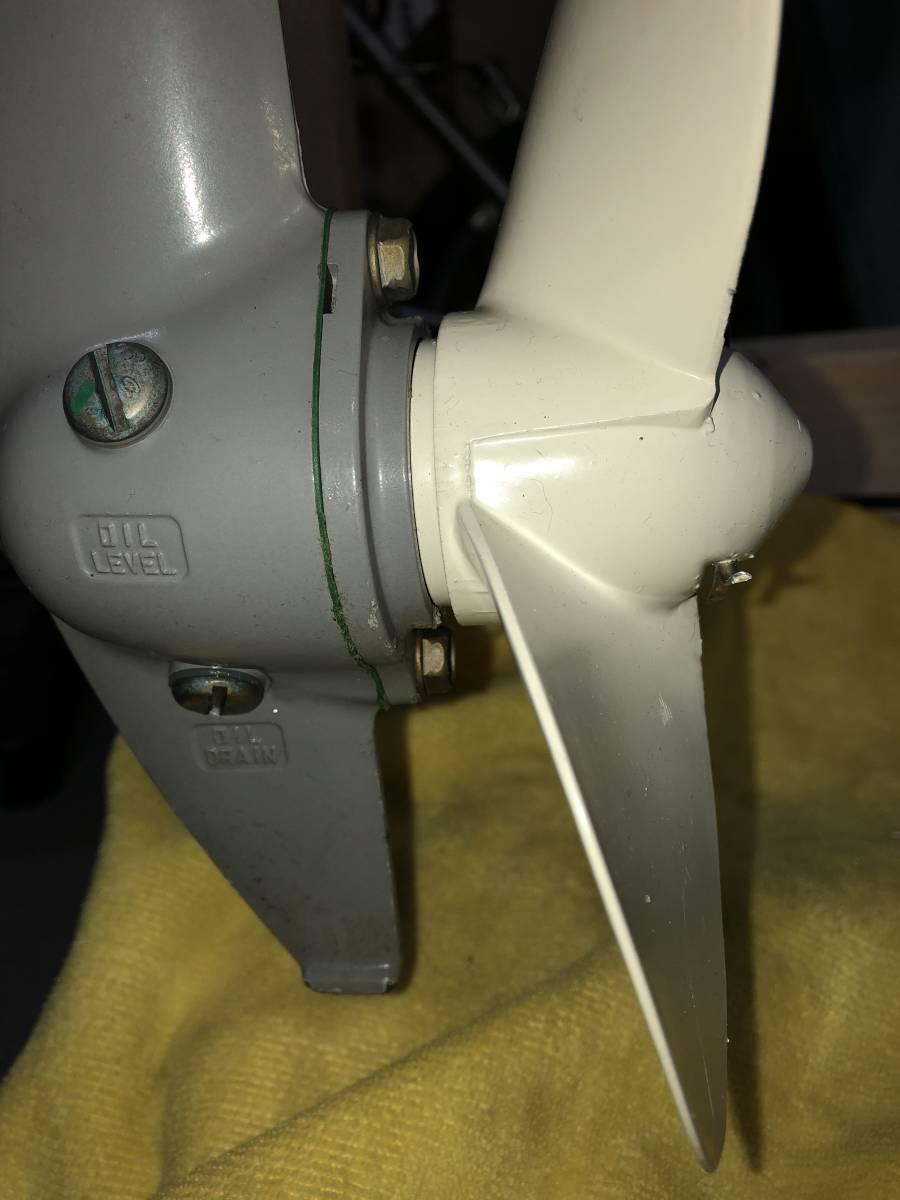 2馬力船外機 ホンダ BF2 HD現行モデルも対応 アルミプロペラ2枚セット 割りピン付き 説明必読!プロペラの販売です。_画像4