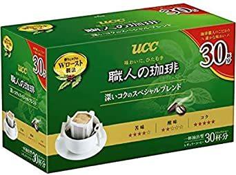 内容量:210g UCC 職人の珈琲 ドリップコーヒー 深いコクのスペシャルブレンド(7g×30P) 210g レギ_画像1