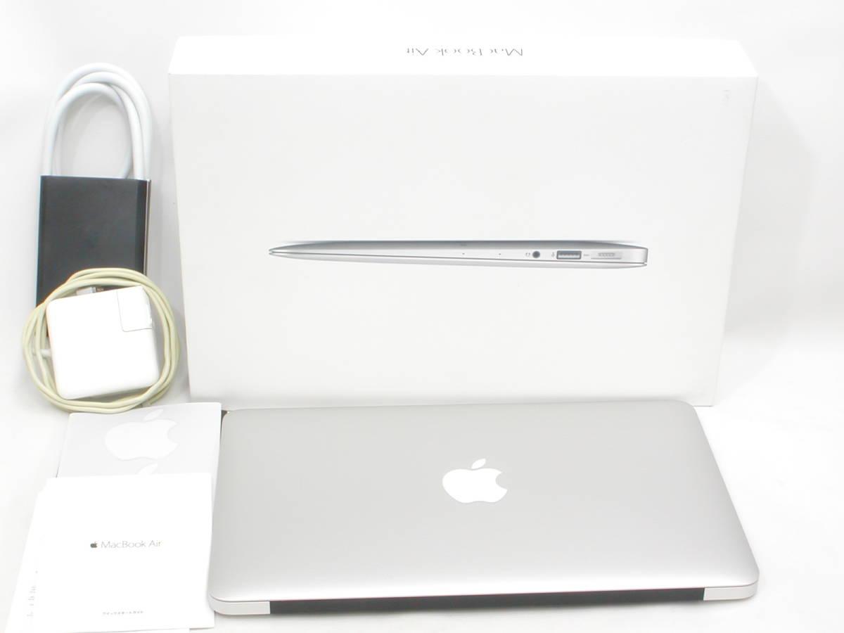 【美品・充放電回数42回】 MacBook Air Early 2015 11インチ SSD 128GB 1.6GHz Intel Core i5 箱付_画像1