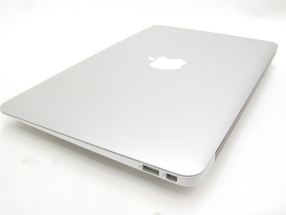 【美品・充放電回数42回】 MacBook Air Early 2015 11インチ SSD 128GB 1.6GHz Intel Core i5 箱付_画像8