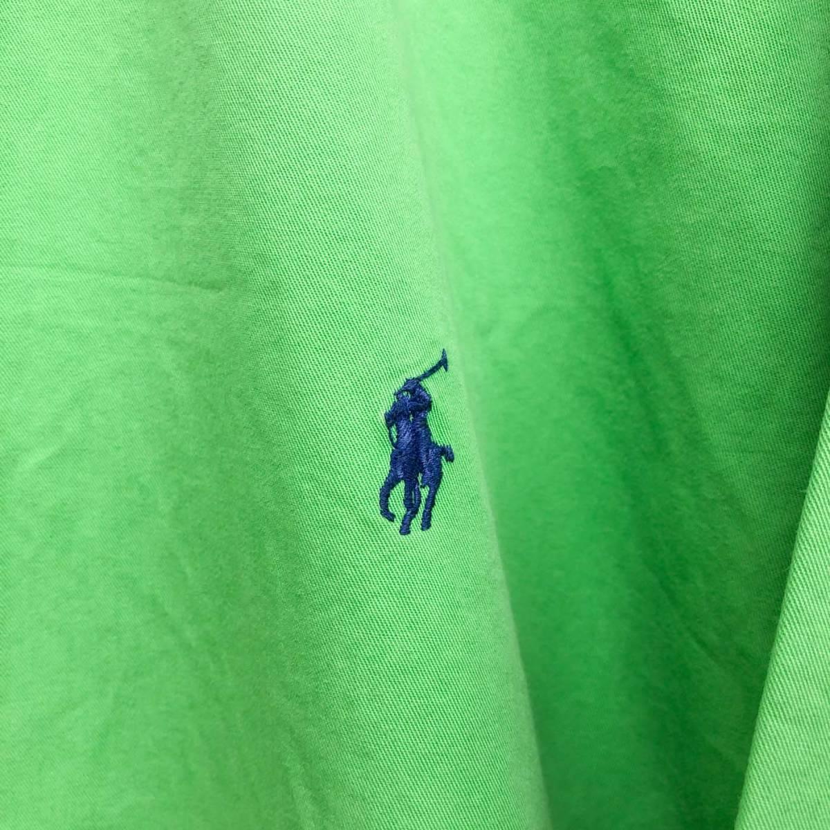 ラルフローレン POLO Ralph Lauren Polo 長袖シャツ メンズ ワンポイント 3XLサイズ 7-241_画像4