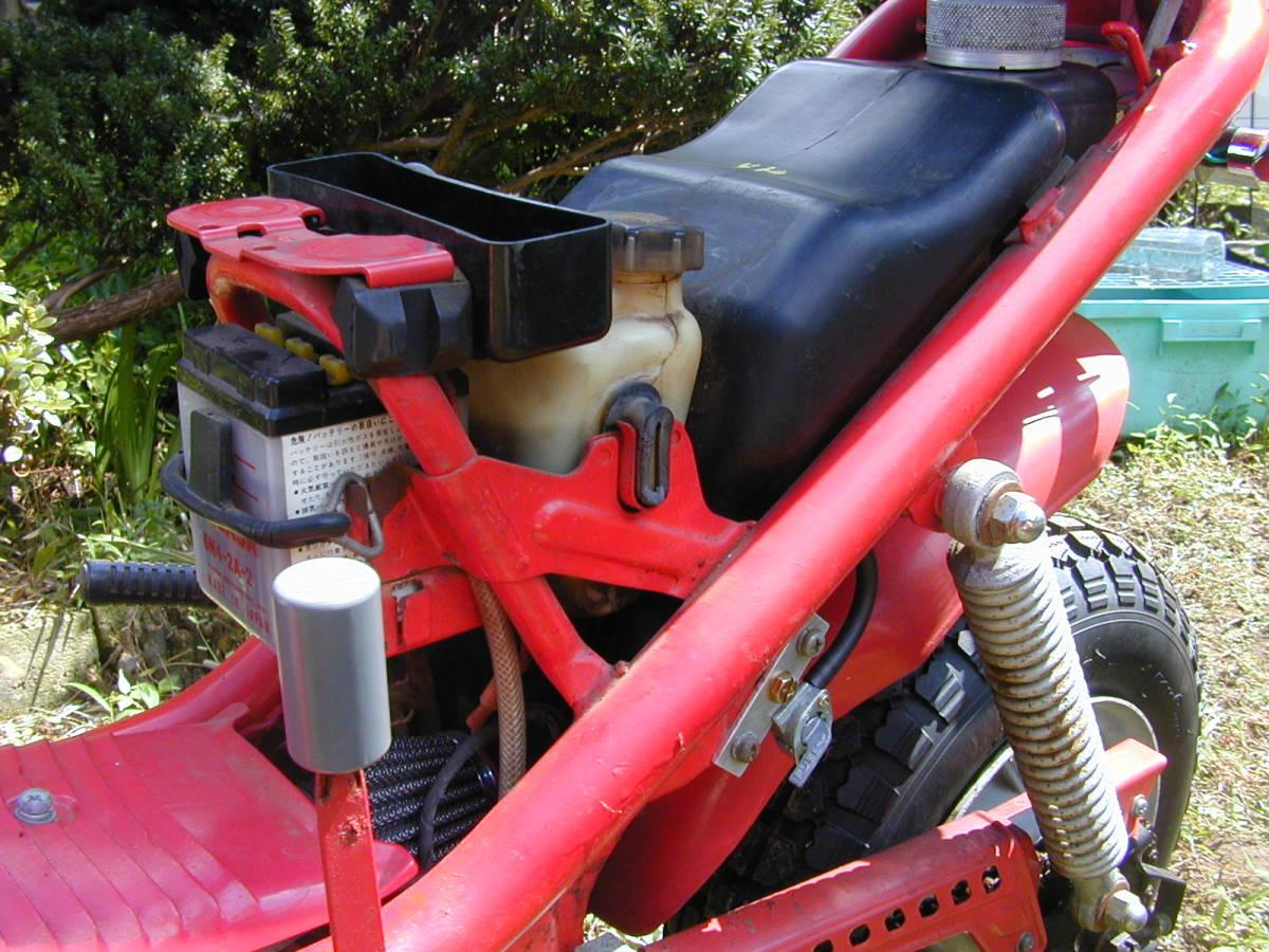 「ヤマハ チャッピー 50cc エンジン実動 レストア途中 関東配達可 引き取り歓迎」の画像3