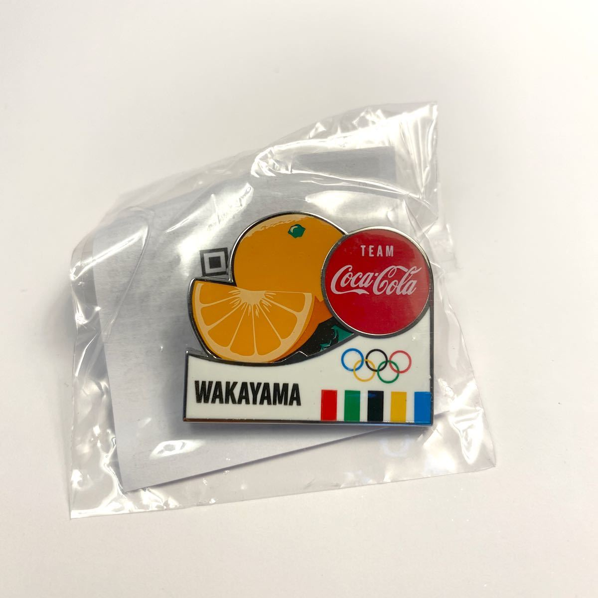 コカコーラ 東京オリンピック ピンバッジ 都道府県 ピンバッチ コカ・コーラ 和歌山県 ピン