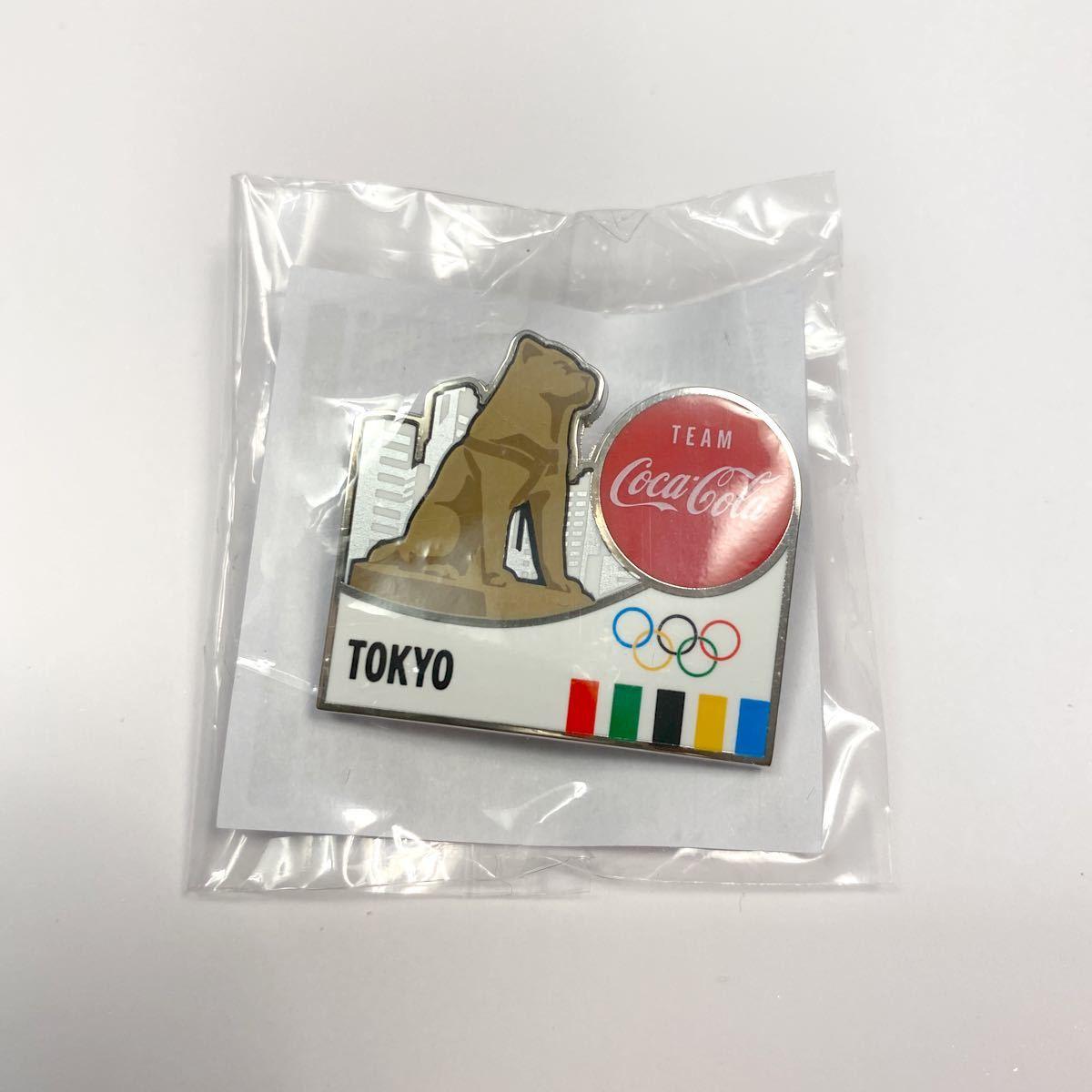 コカコーラ 東京オリンピック 都道府県 東京 ハチ公 ピンバッジ コカ・コーラ