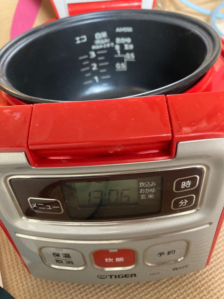 真っ赤なタイガー・マイコン・炊飯ジャー☆3合炊