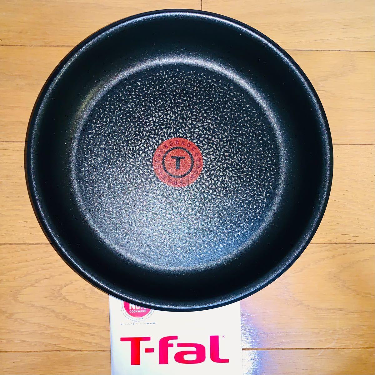 値下げしました テファール  IH対応食洗機対応 ステンレスブラッシュ エクセレンスフライパン22cm T-fal インジニオネオ