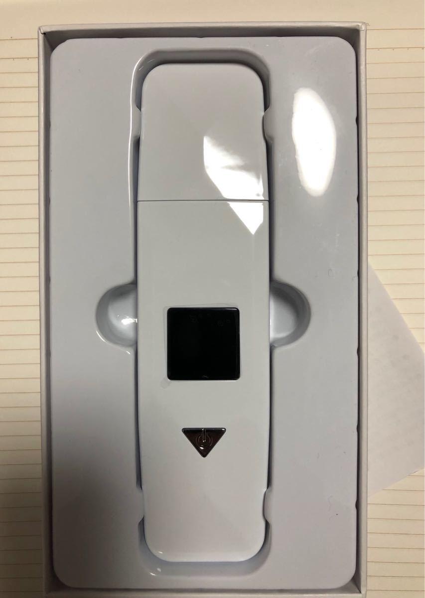 ウォーターピーリング 超音波 美顔器 防水 角質取りイオン導入 EMSマッサージ