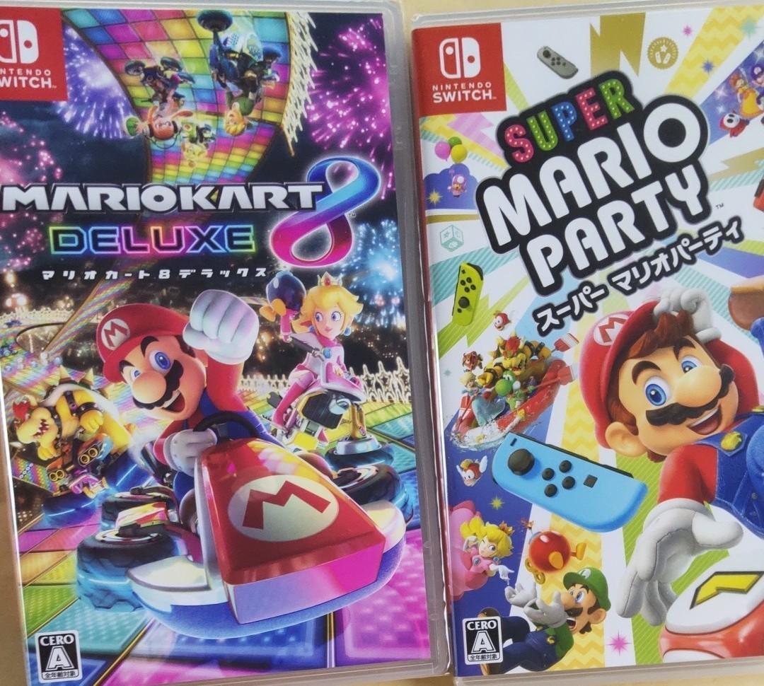 マリオカート8デラックス +  スーパーマリオパーティ Nintendo Switch ソフト セット