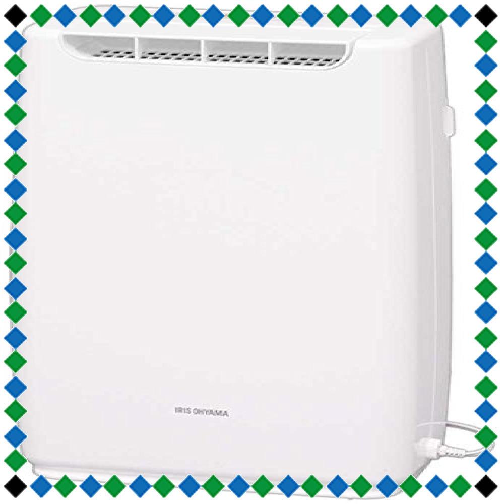 +ホワイト ホワイト アイリスオーヤマ 衣類乾燥コンパクト除湿機 タイマー付 静音設計 除湿量 2.0L デシカント方式 DDB_画像1