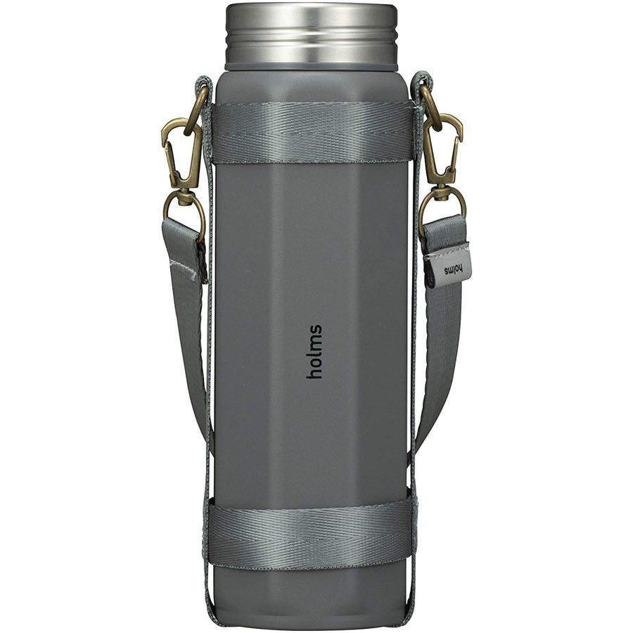 シービージャパン holms オクタボトル 460 水筒 ボトル マグ 保冷 保温 ステンレス ストラッ プ コンパクト アウトドア 手軽 持ち運び