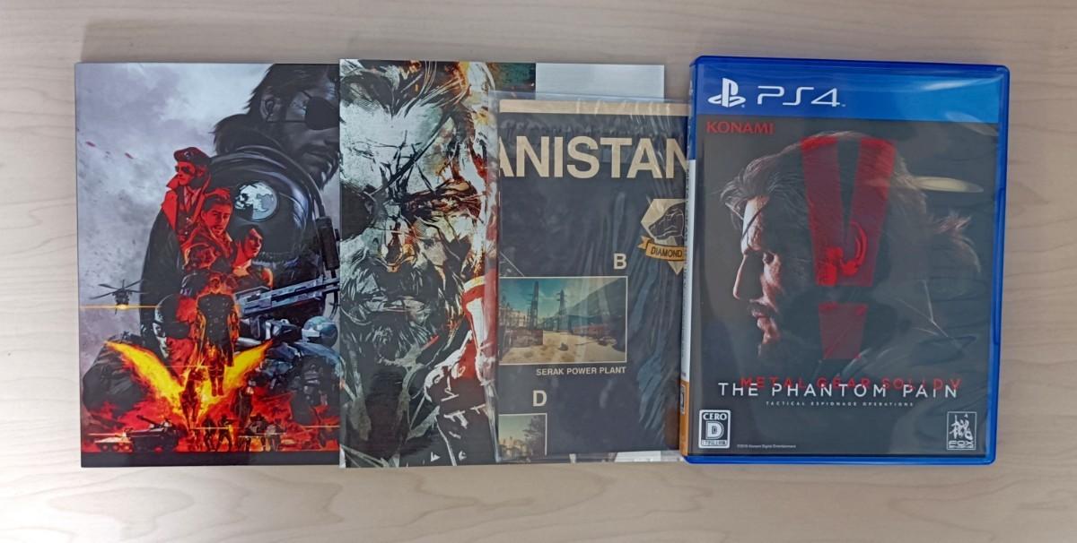 PS4 メタルギアソリッド5 ファントムペイン スペシャルエディション