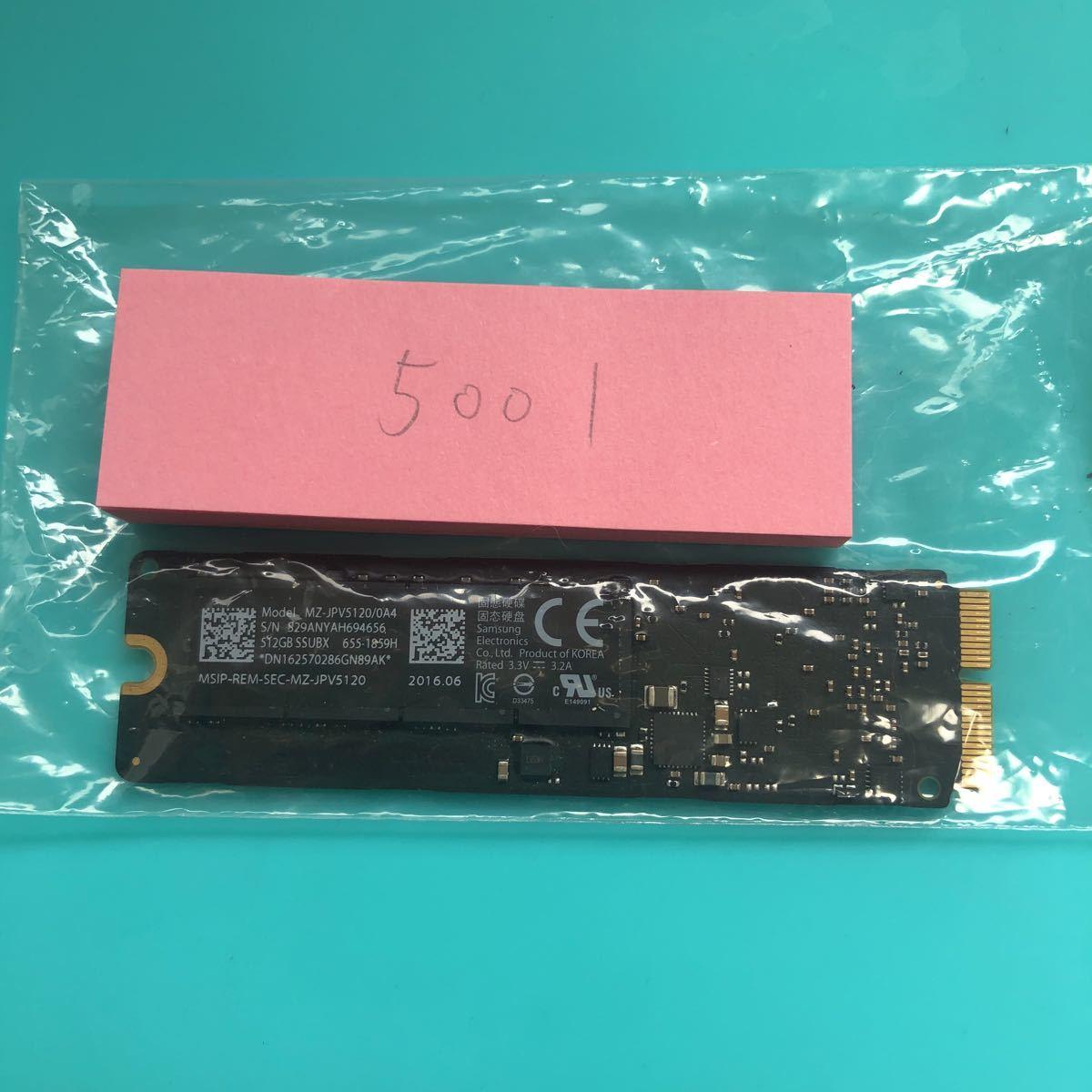 Apple SSD SAMSUNG 512GB (no.5001)