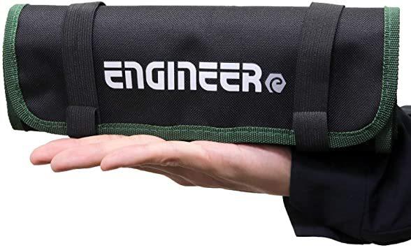ケース単品 エンジニア ツールロールバッグ 工具袋 465×250×3㎜ KSE-35_画像3