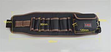 型A [えみり] ツールバッグ ウエストバッグ 腰袋 工具袋 工具収納 ベルト付き 調節可能 多ポケット 大容量 多機能 撥水 _画像2