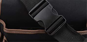 型A [えみり] ツールバッグ ウエストバッグ 腰袋 工具袋 工具収納 ベルト付き 調節可能 多ポケット 大容量 多機能 撥水 _画像4