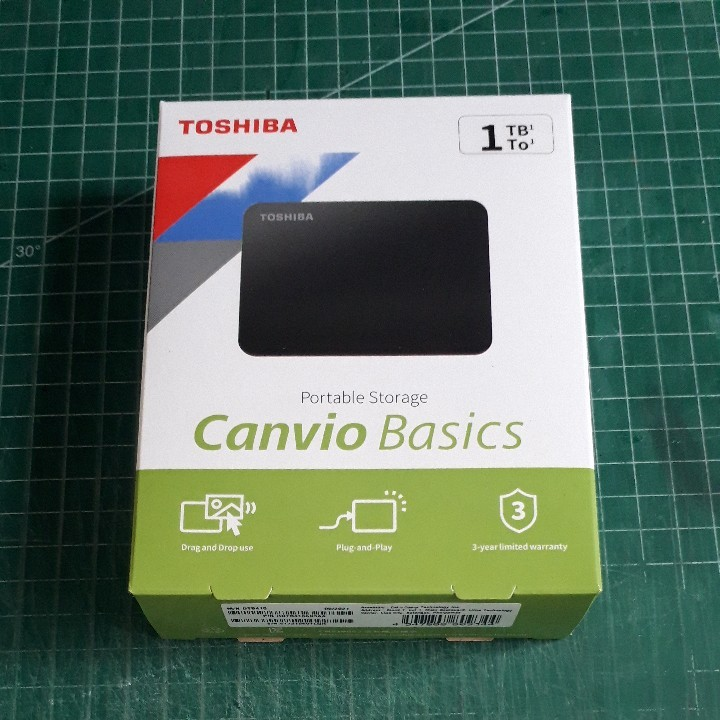 ポータブルハードディスク 1.0TB USB3.0 HDTB410AK3AA 未開封