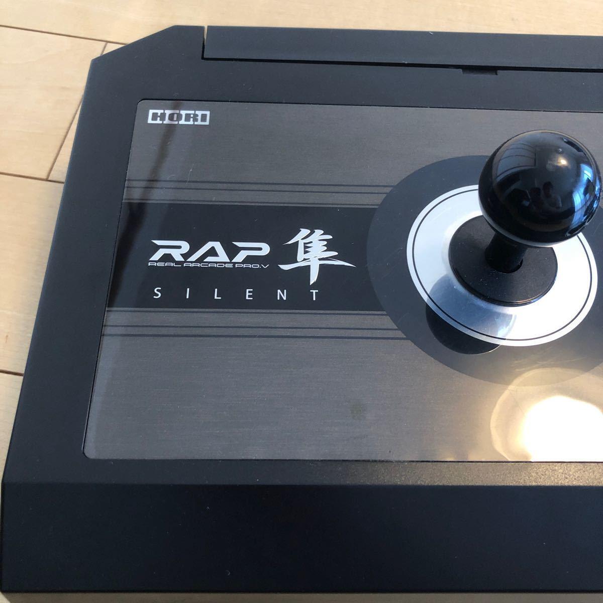 【PS4/PS3対応】リアルアーケードPro.Vサイレント隼 (静音) 美品