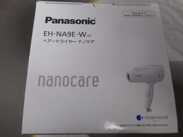 Panasonic ヘアードライヤー ナノケア EH-NA9E-W