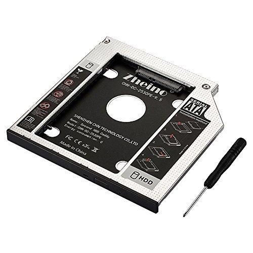 CHN-DC-2530PE-9.5 Zheino 2nd 9.5mmノートPCドライブマウンタ セカンド 光学ドライブベイ用 S_画像1