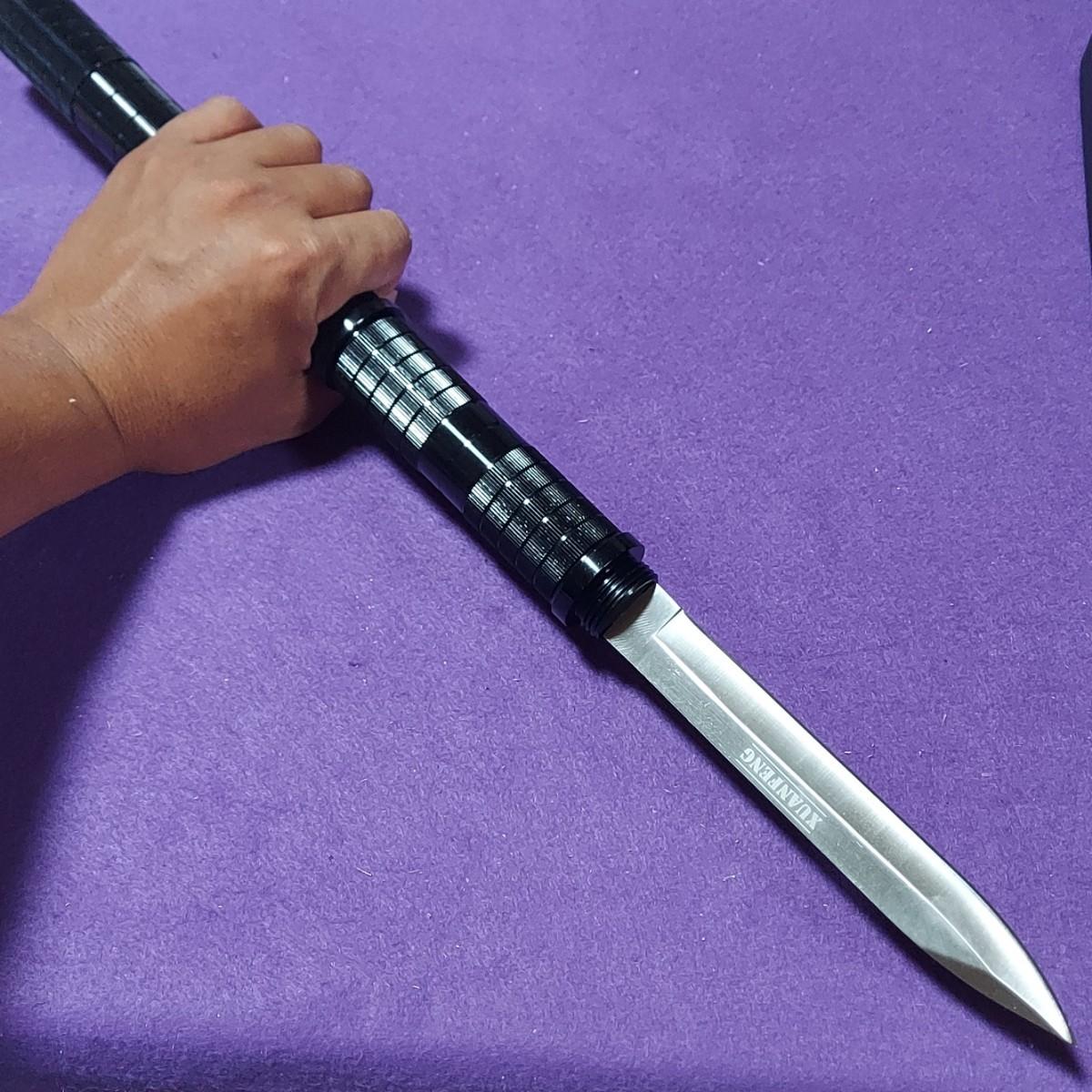 連結可能 ハンティングナイフ 止め刺しナイフ サバイバルナイフ