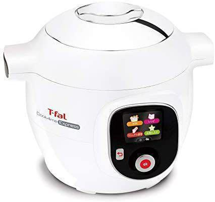ティファール 電気圧力鍋 6.0L 大容量 時短レシピ 調理 CY8511JP
