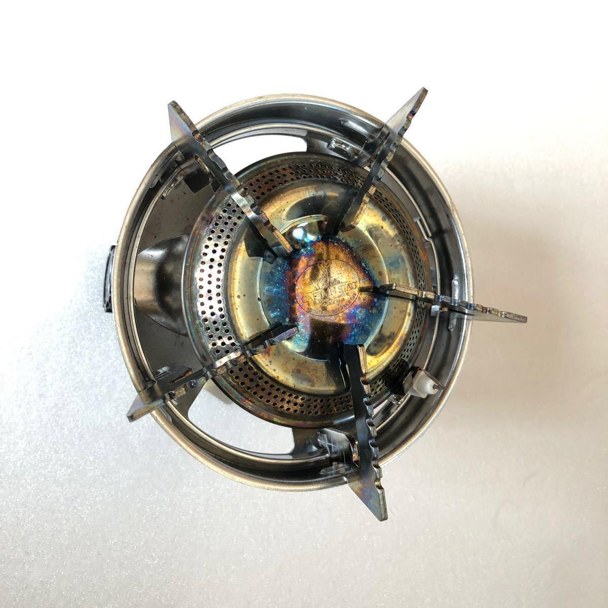 キャプテンスタッグ 小型ガスバーナーコンロ(ケース付き) M-7901E 圧電点火装置付 CAPTAIN STAG