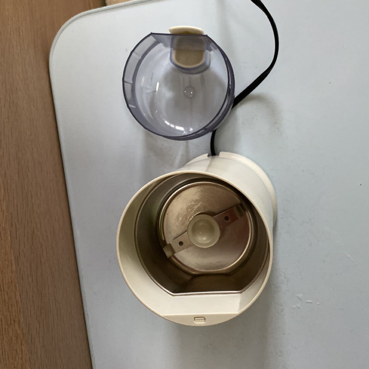 メリタ 電動コーヒーミル ホワイト