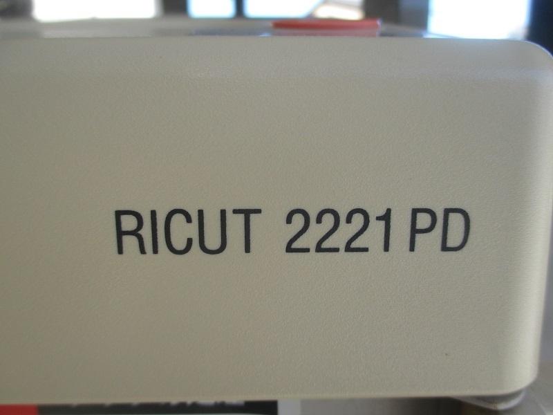 *RICOH Ricoh A4 personal шреддер RICUT 2221PS* б/у * обычный разрезание проверка settled *