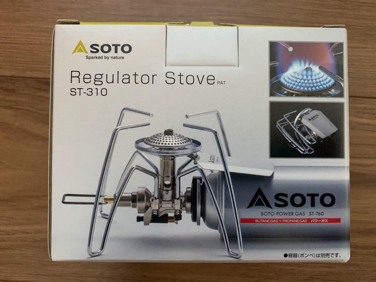 新富士バーナー SOTO レギュレーターストーブST-310