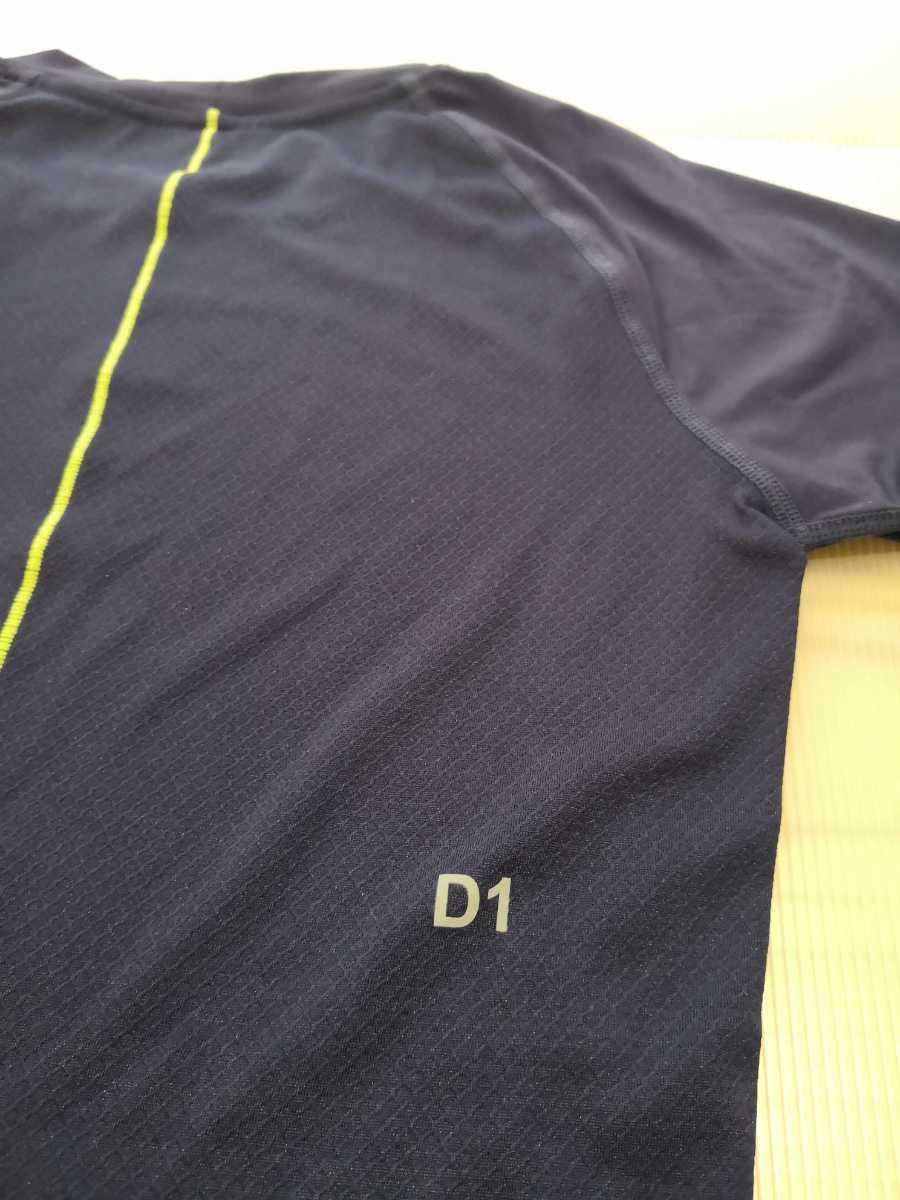 送料無料 asics メンズS アシックス ベースレイヤー 半袖シャツ トレーニングウエア 153595 インナーシャツ アンダーシャツ