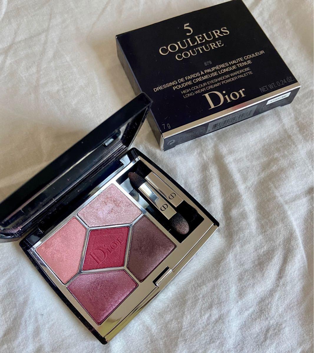 Dior美品サンク クルール クチュール 879 ルージュ トラファルガー アイシャドウ