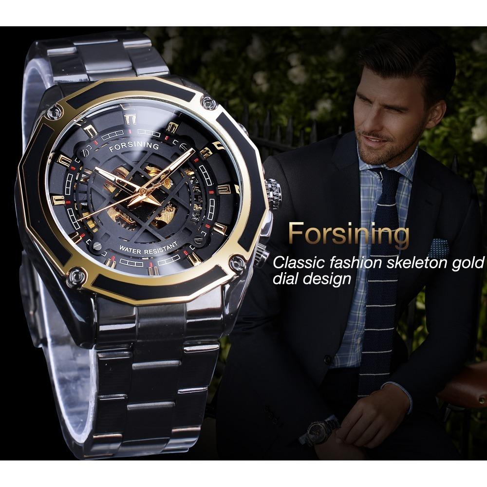 【送料無料】メンズ腕時計 43mm 機械式 自動巻き 多機能 カレンダー 曜日表示 男性ウォッチ 夜光 防水 ファション ブラック*_画像2