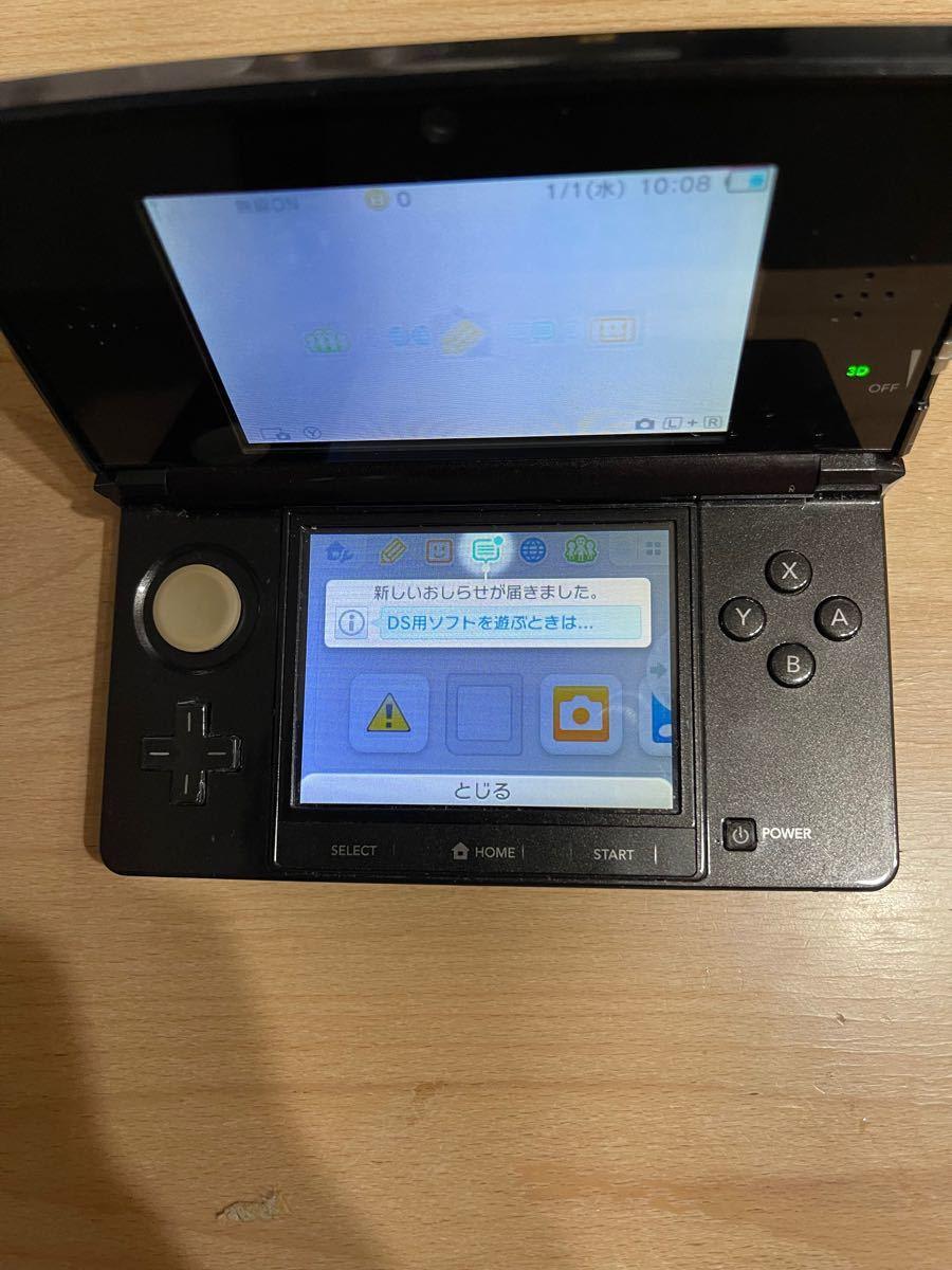 ニンテンドー3DS ニンテンドー3DS本体 ブラック