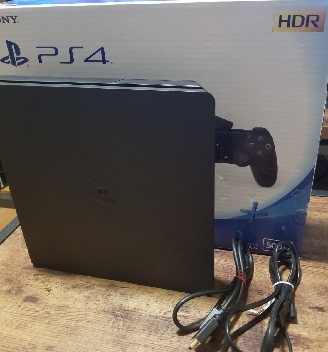 PlayStation4 PS4本体 CUH-2100AB01 ジェットブラック プレイステーション4 プレステ4 PS4