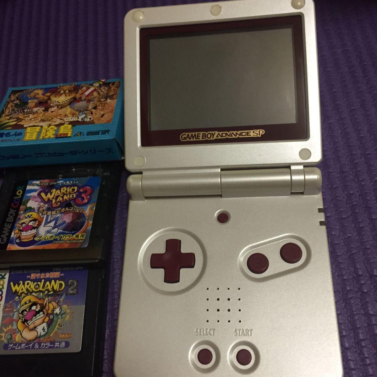 ゲームボーイアドバンスSP Nintendo ファミコンカラー ソフト3本