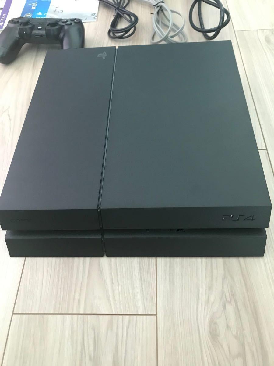 PS4 ジェット・ブラック 500GB CUH-1200A 中古品 PlayStation4 プレイステーション4 PS4本体