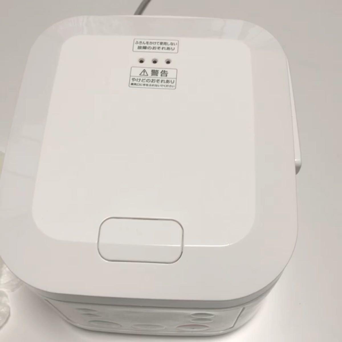 炊飯器、スイハンキ、動作確認済み、ハイアール マイコンジャー炊飯器(3合炊き)ホワイトHaier JJ-M30C-W、送料込み